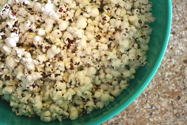 Party Popcorn with Southwestern Spice Recipe - Awake at the Whisk
