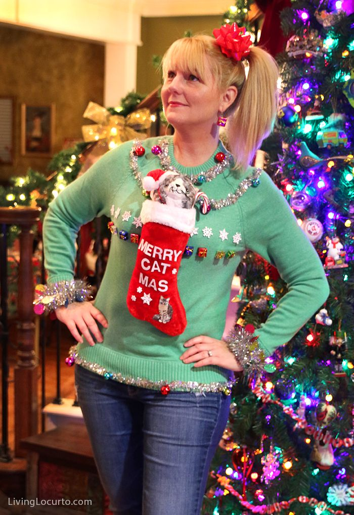 Funny ugly christmas sweater ideas