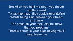 Ronan Keating - When You Say Nothing At All ( Lyrics) - YouTube