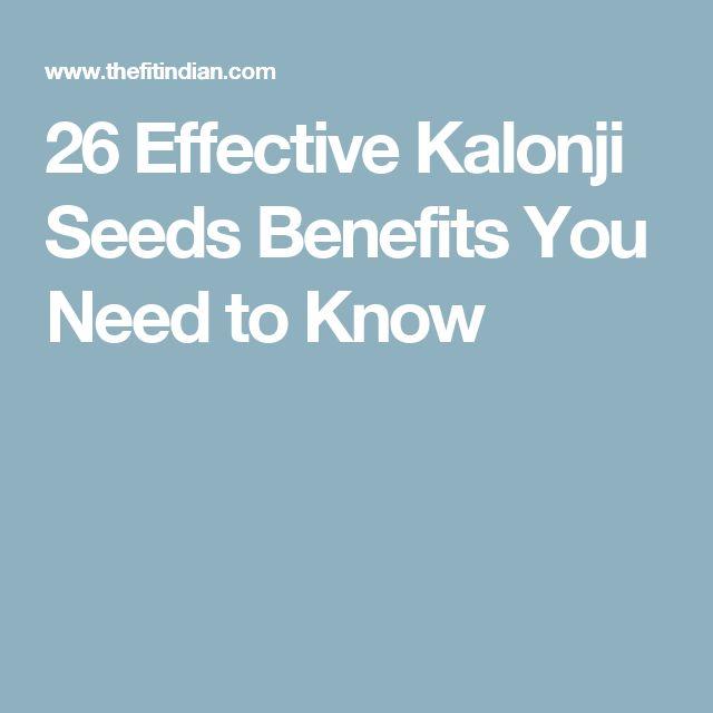 26 Effective Kalonji Seeds Benefits You Need to Know