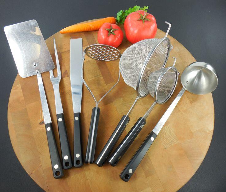 54 best Vintage Ekco Flint Kitchen Utensils Tools Gadgets - Olde ...