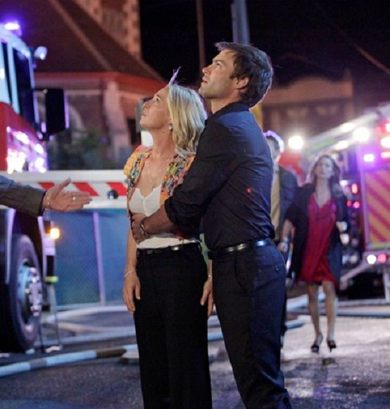 Offspring season 3 - Nina's apartment on fire