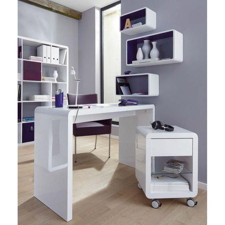 ber ideen zu schreibtisch schmal auf pinterest. Black Bedroom Furniture Sets. Home Design Ideas