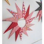Stjärnor i origami / Origami paper stars - Pysselbolaget - Enkla roliga pyssel för barn och vuxna