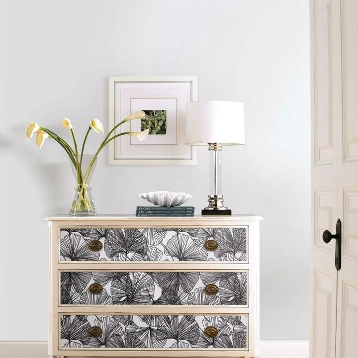 Gingko Leaves Peel And Stick Wallpaper Room Visualizer Peel And Stick Wallpaper Gingko Leaves