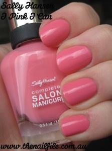 Sally Hansen - I Pink I Can