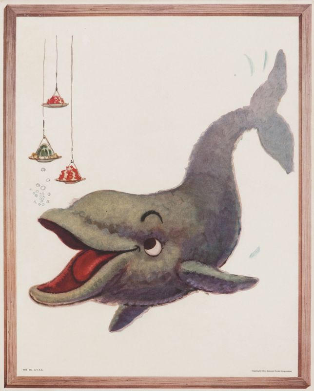 Jello - Dolphin by Artist Unknown | Shop original vintage #posters online…