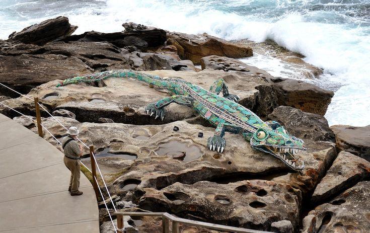 Crocodile sculpture, Sydney