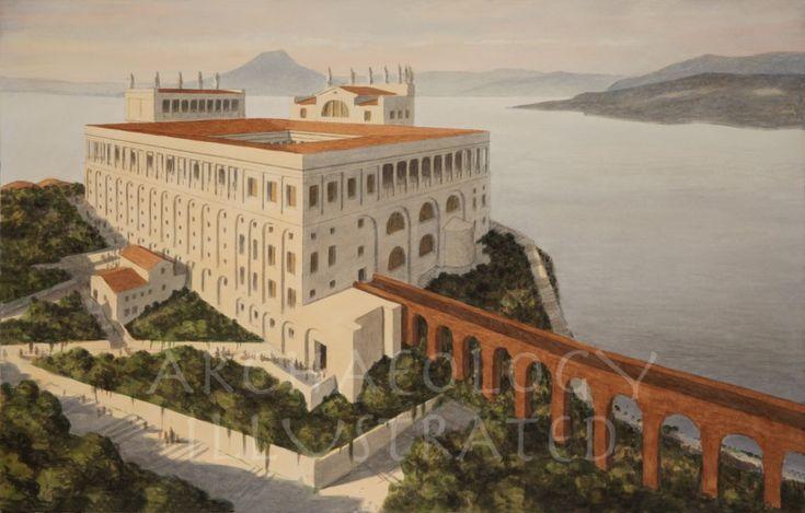 Island of Capri, Villa Jovis of the Emperor Tiberius and
