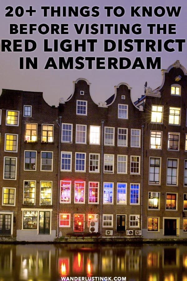 Secrets Of The Red Light District In Amsterdam Etiquette And