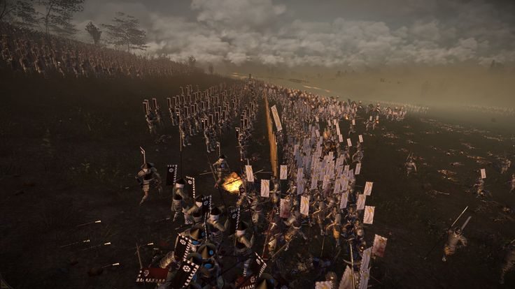 It's moments like these why I love Shogun 2. Why I love Total War.