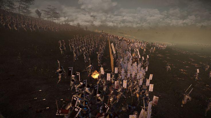 It's moments like these why I love Shogun 2. Why I love Total War.
