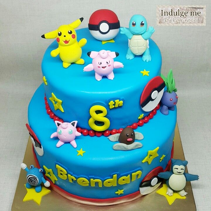 Pokemon Teams This Cake Is Vanilla With Butter Cream