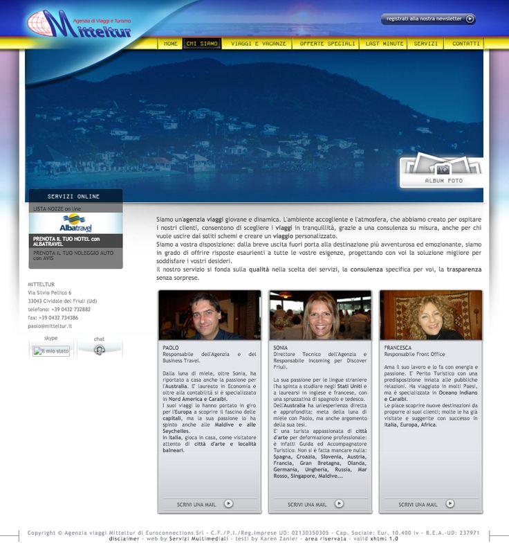 website copy customer: mitteltur, travel agency