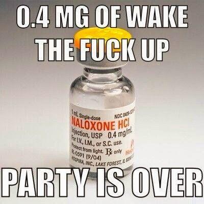 Gotta love Narcan