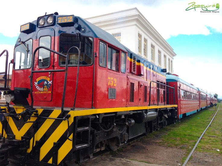 Te invitamos a visitar #Zipaquirá en tren, una experiencia Realmente Mágica. #Zipaquiráturística #Colombia #larespuestaesCOlombia