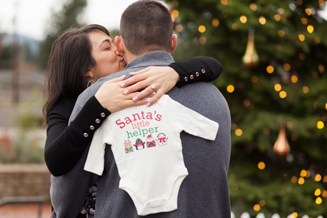 Whether you just found out you're expecting or about to pop, here are 19 photos to inspire a festive baby announcement.