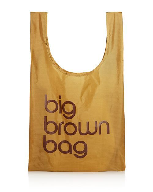 847b781c4b6 Baggu - Big Brown Bag Nylon Tote - 100% Exclusive| Double handles Open top