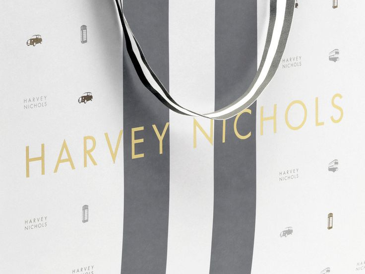 HARVEY NICHOLS limited edition packaging by Construct