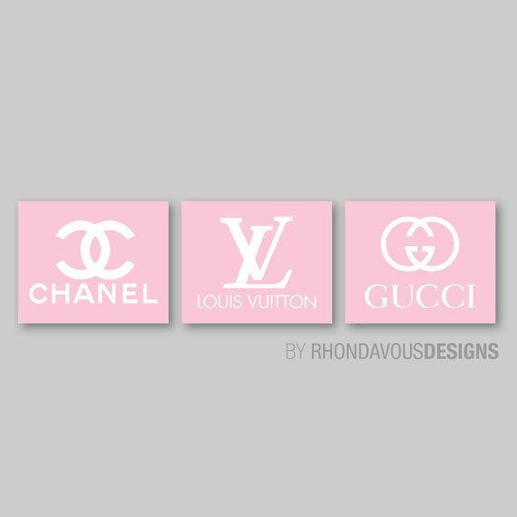 Chanel Louis Vuitton Gucci Logo Fashion By