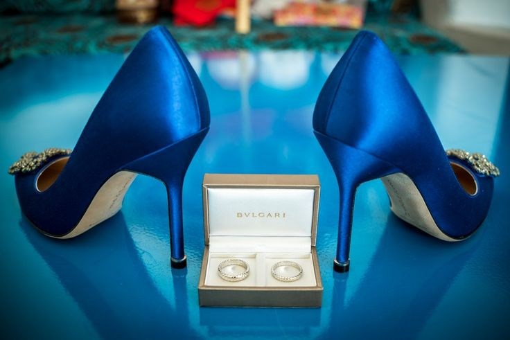 THE shoes,THE rings..The big day is here!! #thediamondrock #wedding planner #santorini  #traditional #marriage #Greek #island #Cyclades #fashion #shoes #blue #royal #rings #engagement