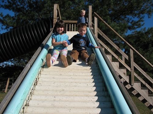 PVC Rods As Slide Rollers | Kid's playground | Pinterest ...
