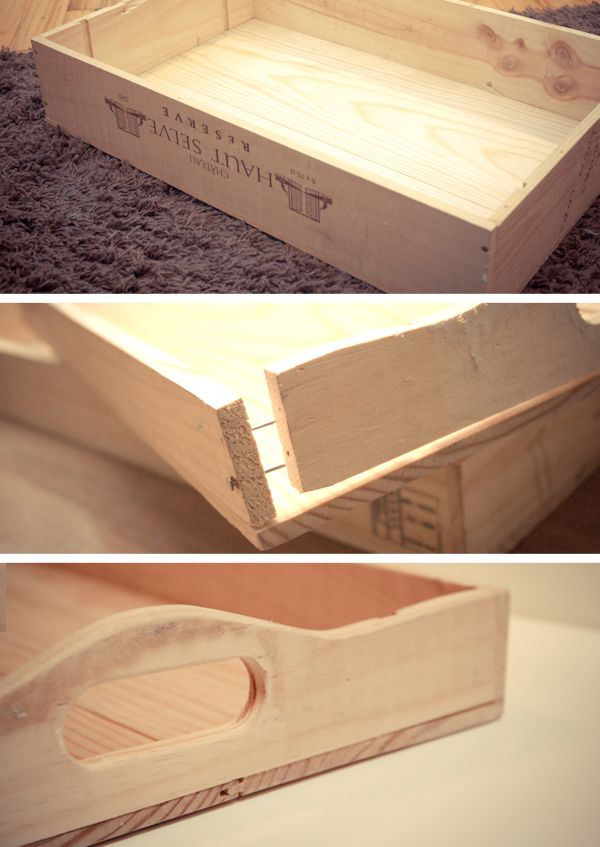 Wooden Serving Tray With Handles Plans Woodworking
