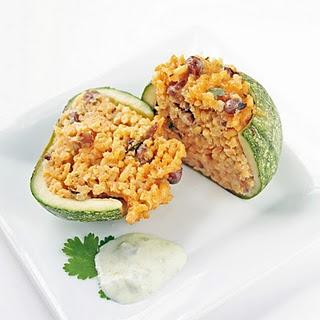... Zucchini Balls | Recipe | Stuffed Zucchini, Zucchini and Cheesy Rice