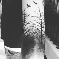 fliegende kirschblüten tattoo   Beliebte Tattoos, Kirschblüten and Baum-Tätowierungen on Pinterest