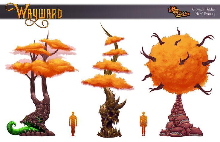 Wayward Hero Trees 1-3 by MisterBlackwood.deviantart.com on @DeviantArt