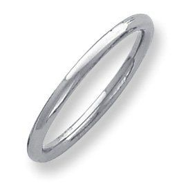 Palladium Heavy Weight Comfort Fit 2.00mm Band Ring - Size 10.5 - JewelryWeb JewelryWeb. $280.60