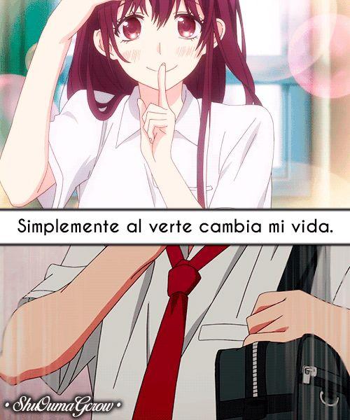 frases hermosas de anime: Simplemente…. #ShuOumaGcrow