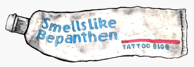 smells like bepanthen: a tattoo blog