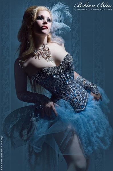 Bibian blue. La tienda de más glamour de Barcelona. Las alumnas de clase de Burlesque teneis un 15%dto.