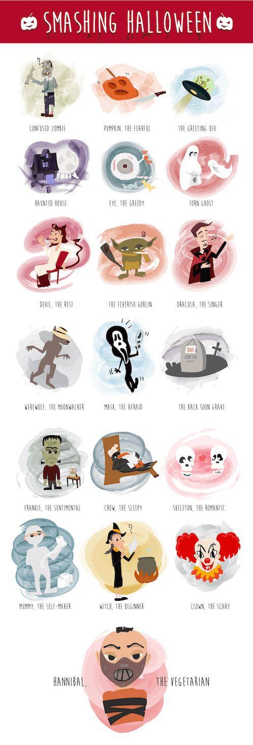 Freebie: Halloween Icon Set (19 Icons, AI, EPS, PDF, SVG, PNG)