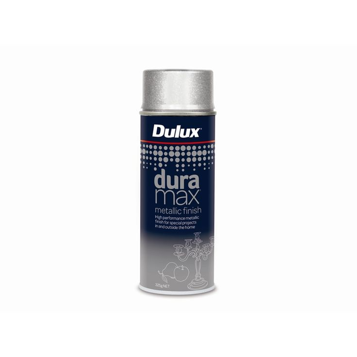 Find Dulux Duramax 325g Metallic Spray Paint - Metallic Silver at Bunnings Warehouse. Visit your local store for the widest range of paint & decorating products.