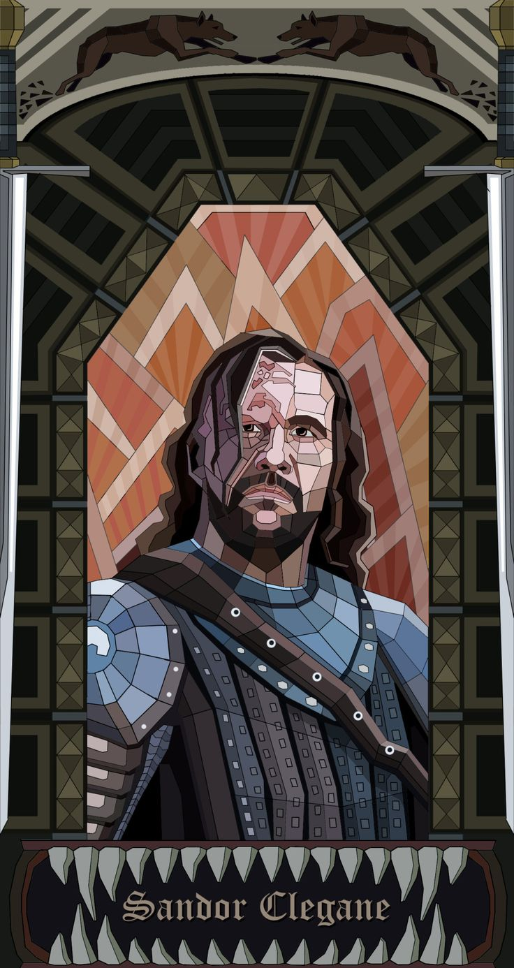 Game of Thrones stained glass inspired fan art by Buka