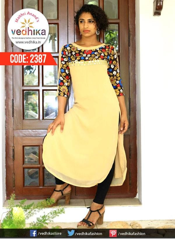 Craving For Kalamkari?We have them in Kurtis and in indo western styles