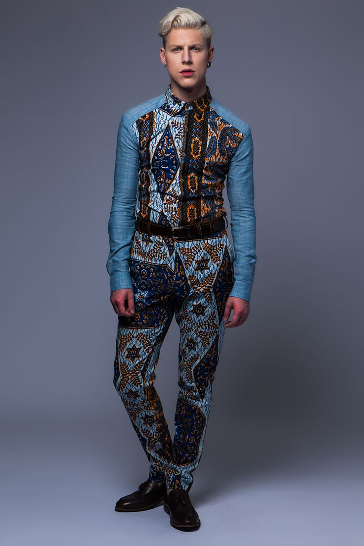 @OHEMAOHENE #MENSWEAR #SS16 #MILAN #LONDON #ACCRA #PRINTS #DENIM #OOTD