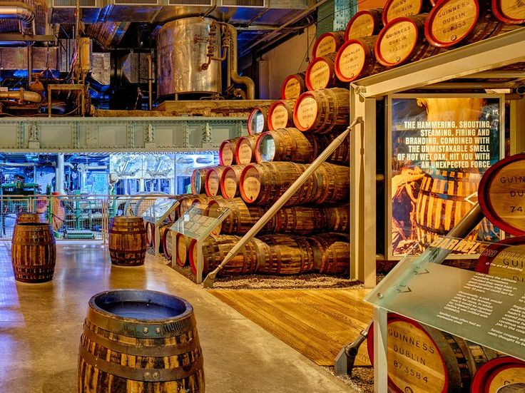 Three million pints of Ireland's most beloved beer are brewed here every day.