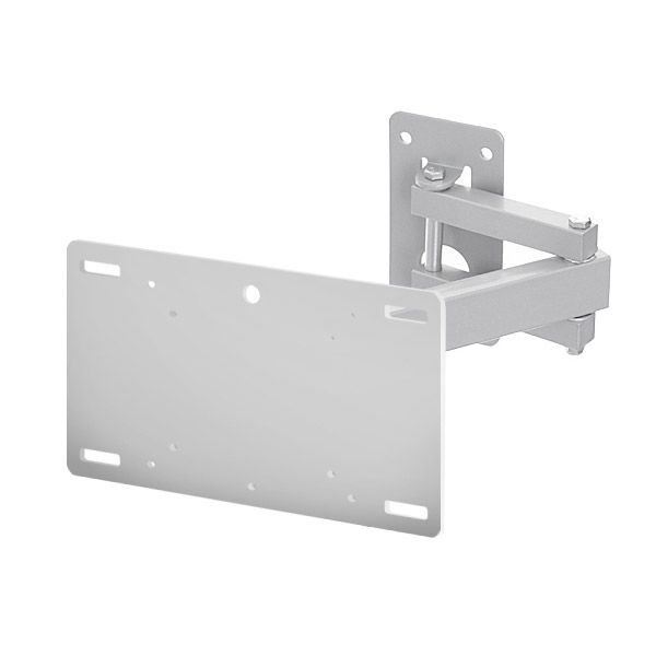 Multi-functional Single Arm Cantilever Bracket Version 4 - Silver (A37CSLV) | Corner TV bracket 10-22 Inch TV Brackets | TV Brackets | TV Wall Brackets | TV Wall Bracket | TV Wall Mounts | TV Bracket | TV Bracket Wall Mount
