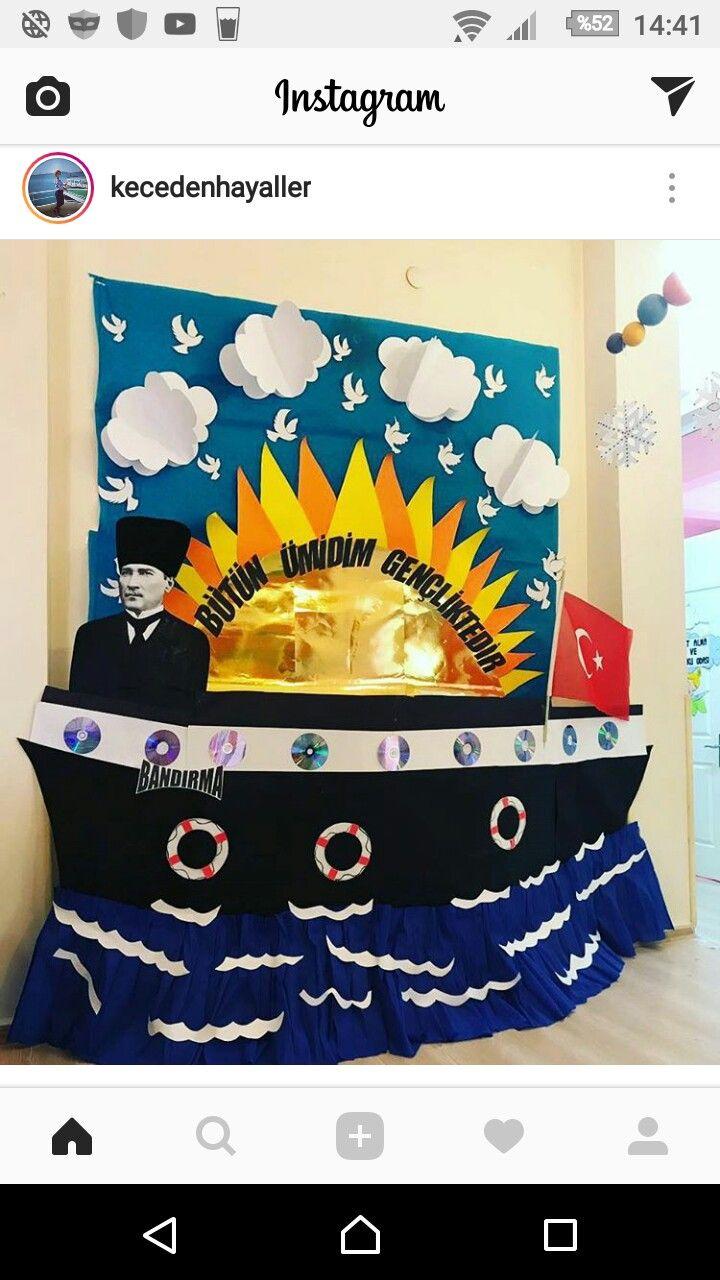 Atatürk haftası köşesi