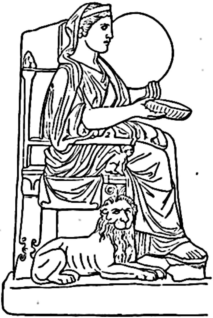 ancient rome gods coloring pages - photo#8