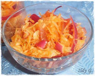 Ildy G. - gasztro és kreatív blogja: Olajos káposzta saláta