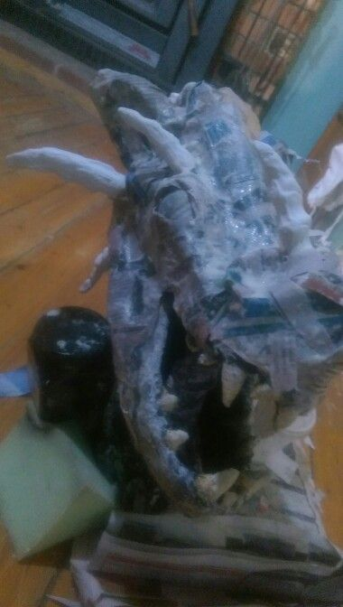#dragon #papermache #craftdaily  #imadeathing  #smaug