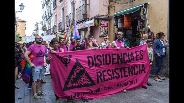 Manifestación del Orgullo Crítico - Disidencia es Resistencia 28-06-2016