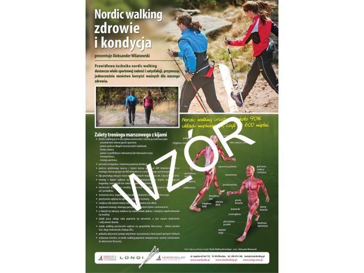 Nordic walking, plakat nordic walking