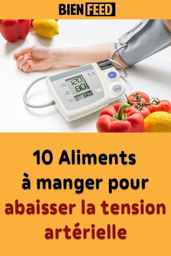 10 Aliments A Manger Pour Abaisser La Tension Arterielle Tension
