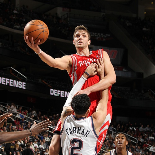 I'm looking forward to watching this pretty face dominate the court this season. Thank goodness for Chandler Parsons.