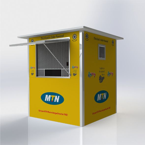 The Solar-Powered Kiosk serves as a portable vending unit, with many uses. The unit is manufactured from assembled 40mm insulated chromadeck SIPS panels. The graphics are in wrap or decal format. These units can be equipped with solar solutions such as internal light and a charging bay. For more info on this product and others, please visit our website. http://rightstuff.tv/newsletter-2-11-2015.html